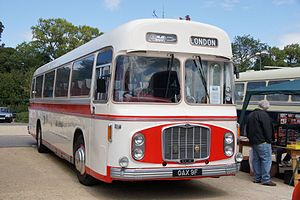Red & White Services - Image: Red & White coach RC968 (OAX 9F), 2011 Bristol Vintage Bus Group open day (1)