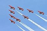 Red Arrows - RIAT 2007 (2475990421).jpg