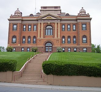 Red Lake County, Minnesota - Image: Red Lake County Courthouse
