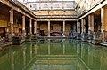 Reflecting on the Baths, Bath - geograph.org.uk - 339175.jpg