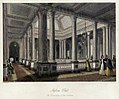 Reform Club. Upper level of the saloon. From London Interiors (1841).jpg