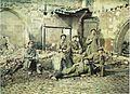 Reims cloitre des cordeliers ruines soldats de la brigade russe début 1917 - Copie.jpg