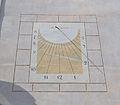 Rellotge de Sol a la seu universitària de Benissa.JPG