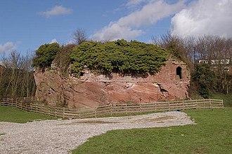 Holt Castle - Image: Remains of Holt Castle geograph.org.uk 352189