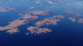 Rennesøy - Aerial view of the municipality