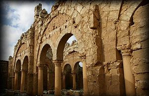 Arches in Resafa