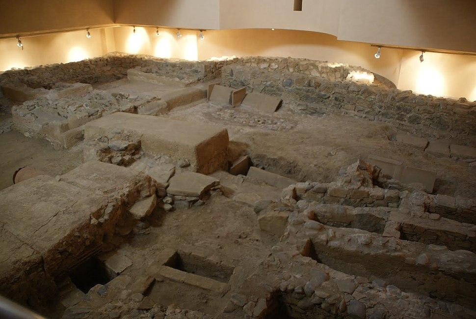 Restos de la Basílica Tardorromana de Ceuta