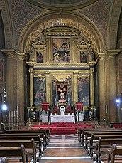 Retablo mayor de la Casa Profesa de la Compañía de Jesús (Sevilla).jpg