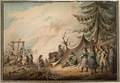 Retreat of Napoleon from Leipzig, 1813 WDL2942.png