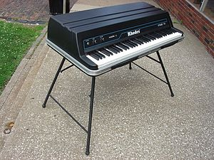 Rhodes piano - The Rhodes Mk V was the last model to be released by the original Rhodes corporation