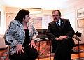 Ricardo Alfonsín con Graciela Ocaña (5751917480).jpg