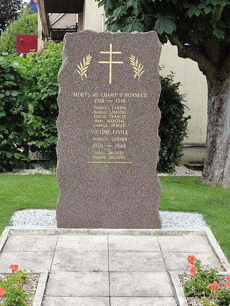 Richardménil (M-et-M) monument aux morts communal