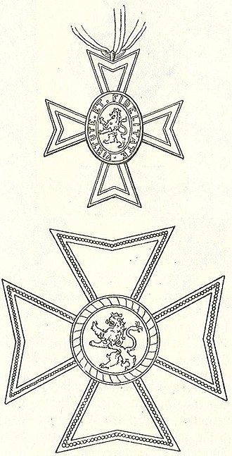 Wilhelmsorden - Knight's Cross Fourth Class, and Commander's Grand Cross.