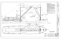 Rigging Arrangement - Steam Schooner WAPAMA, Kaiser Shipyard No. 3 (Shoal Point), Richmond, Contra Costa County, CA HAER CAL,21-SAUS,1- (sheet 8 of 8).png