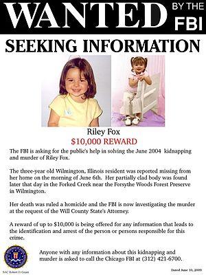 Murder of Riley Fox - Riley Fox