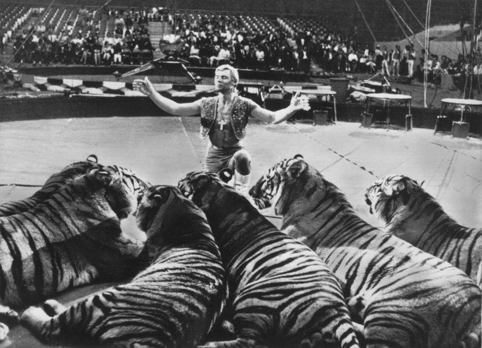 Ringling Bros and Barnum & Bailey Circus Gunther Gebel-Williams 1969