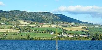 Ringsaker - Lake Mjøsa in Ringsaker