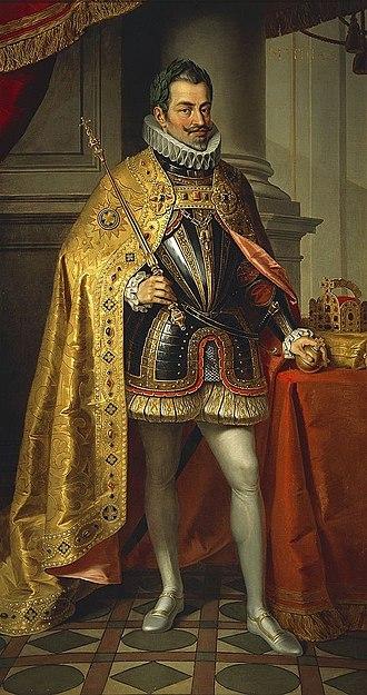 Matthias, Holy Roman Emperor - Posthumous portrait of Matthias, XIXth century.