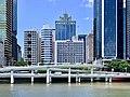 Riverside Expressway, Mercure Brisbane, buildings along North Quay, State Law Building at 50 Ann Street, Brisbane, 2020.jpg