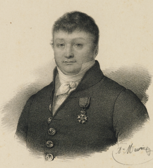 Robert Surcouf - Portrait of Surcouf by Antoine Maurin