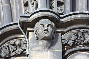 Robert Tannahill - Robert Tannahill as appearing on the Scott Monument