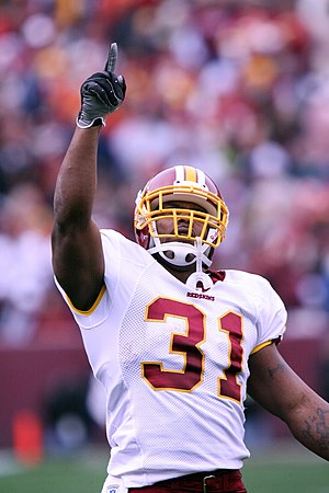 Rock Cartwright - Rock Cartwright during his tenure with the Redskins.