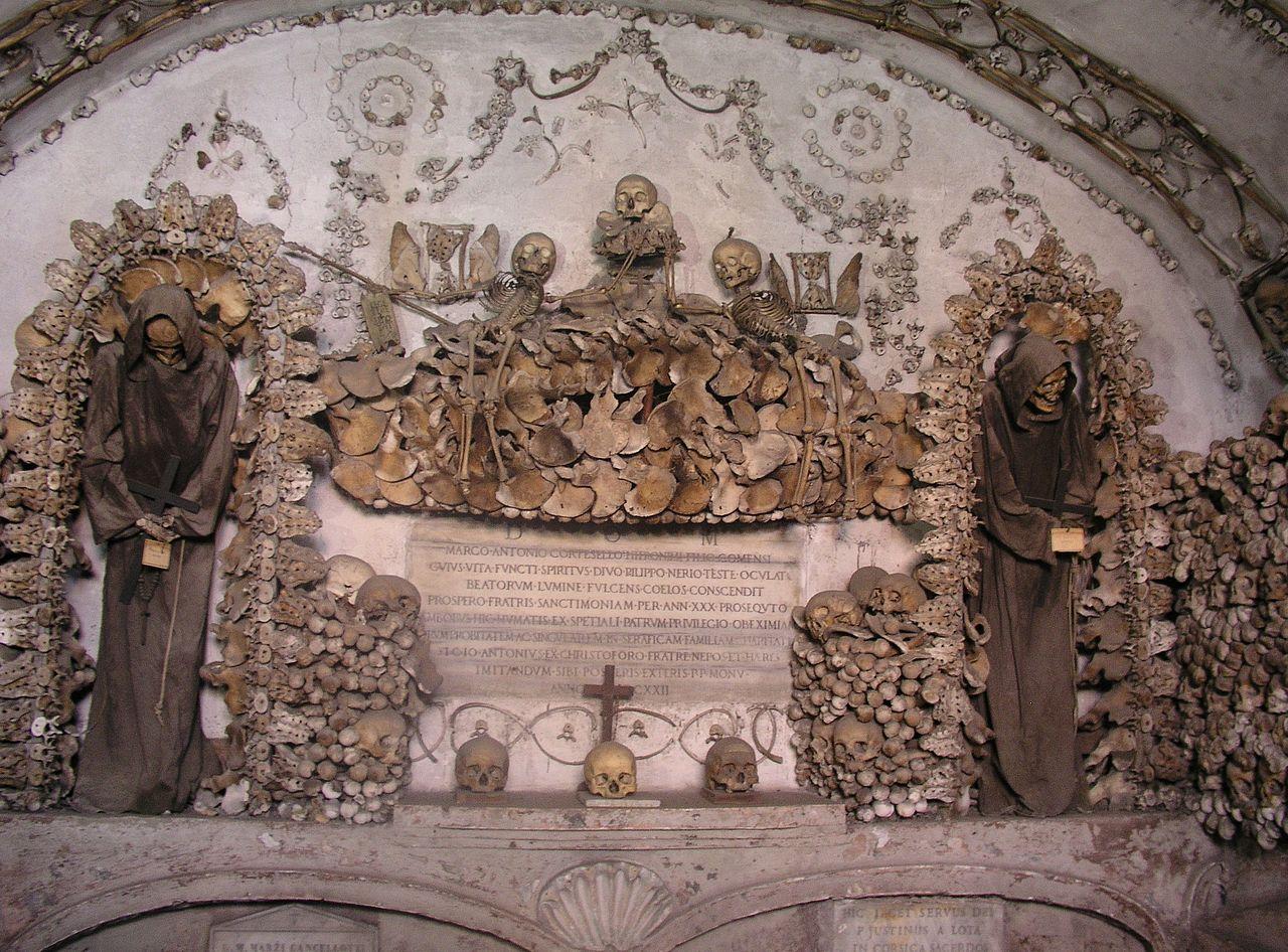 Rom, Santa Maria Immacolata a Via Veneto, Krypta der Kapuziner 2.jpg