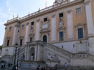 Corruption in Italy - The Senate Palace in Rome