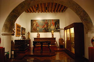 Franz Mayer Museum - Small room with religious items at the museum