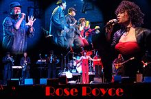 Rose Royce în concert la Chumash Casino Resort din Santa Ynez, California, în 2005