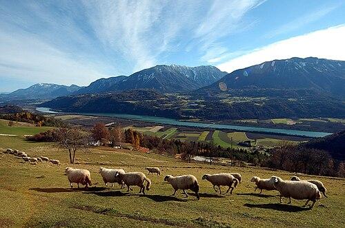 Rosental Ost mit Hochobir und Petzen 13112007 21