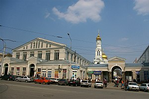 Rostov-on-Don - Central market near the Nativity Cathedral