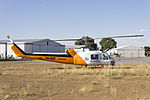 Rotorwing Helicopter Services (VH-DHY) Garlick Bell UH-1H at Wagga Wagga Airport.jpg