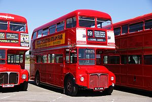 Routemaster RM349 (WLT 349), 2010 North Weald bus rally.jpg