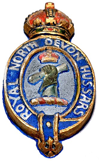 Royal North Devon Yeomanry - Image: Royal North Devon Hussars Badge