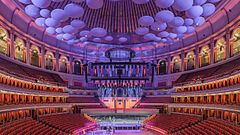 Interior Royal Albert Hall