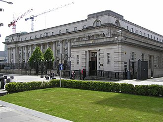 Courts of Northern Ireland - The Royal Courts of Justice, Belfast