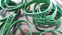 Royal Marines charity wristbands (13619628495).jpg