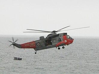 Aeronautical Rescue Coordination Centre - Royal Navy Sea King