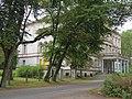 Rudziniec, pałac, widok od drogi dojazdowej 01.JPG