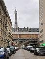Rue Nélaton (Paris) et Tour Eiffel (janvier 2020).jpg