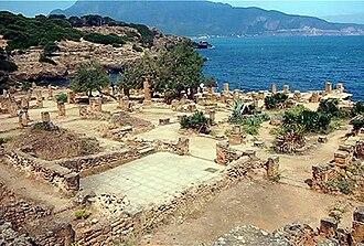 Tipaza - Image: Ruines romaines de Tipaza