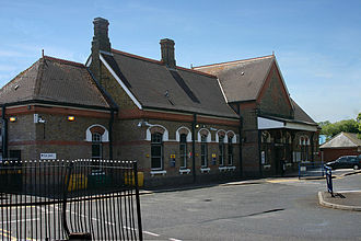 Ruislip - Railway station opened on 4 July 1904.