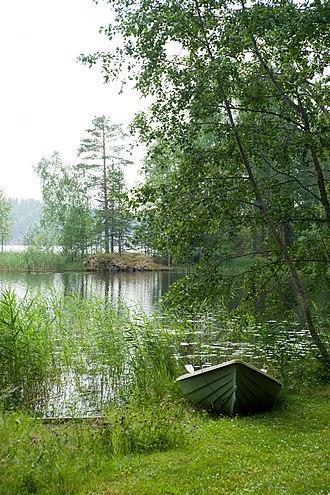 Ruotsalainen (lake) - Image: Ruotsalainen