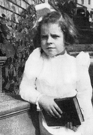 Ruth Gordon - Ruth Gordon at age four