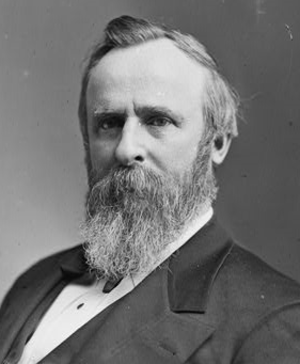 United States presidential election in California, 1876 - Image: Rutherford B Hayes