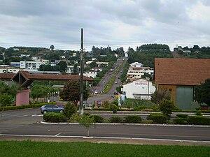 São Jorge d'Oeste - Image: São Jorge d'Oeste Vista