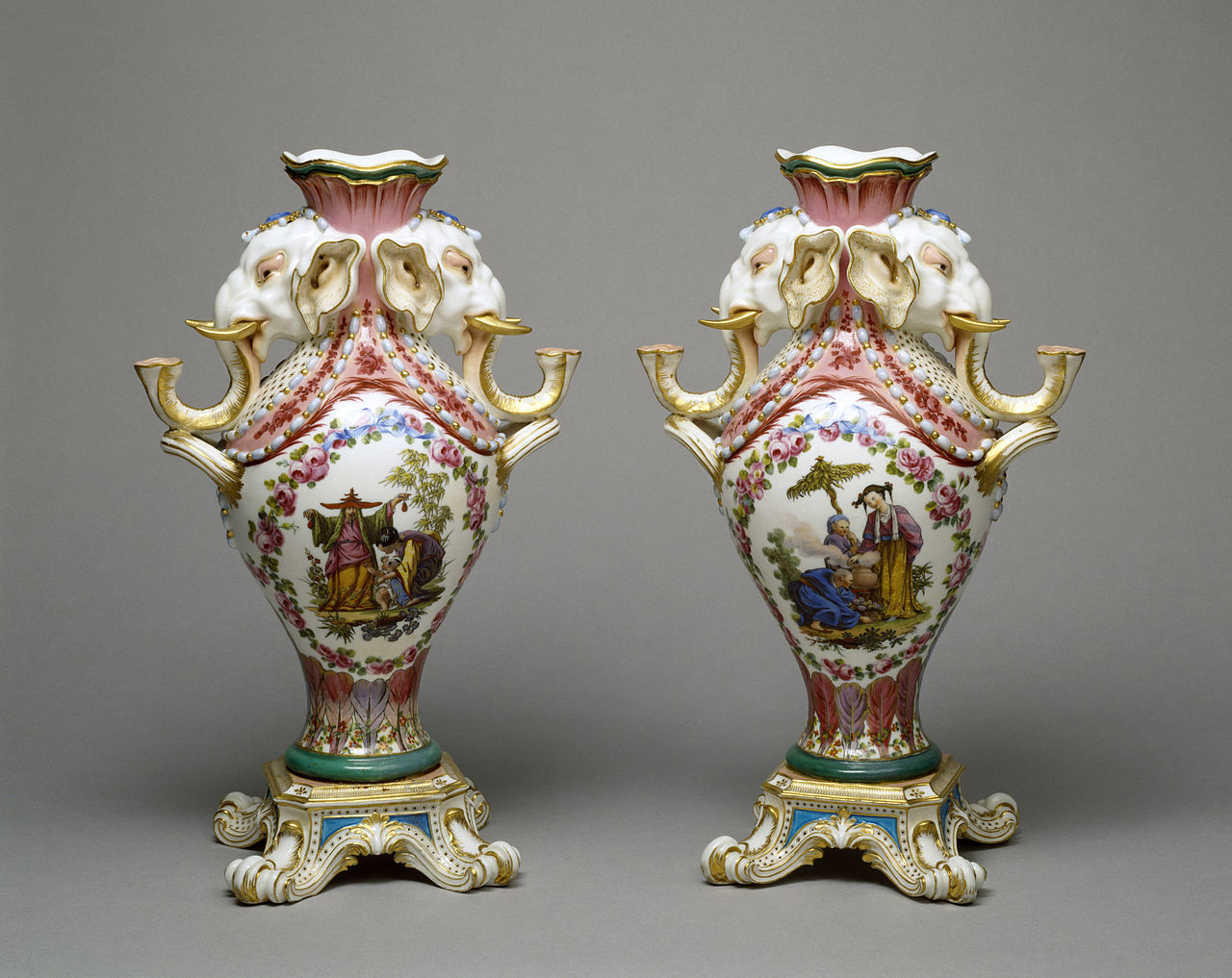 Hand Painted Porcelain By M Brinks Flint Mich