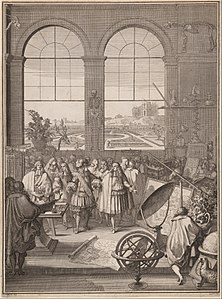 Sébastien Leclerc I, Louis XIV Visiting the Royal Academy of Sciences, 1671.jpg