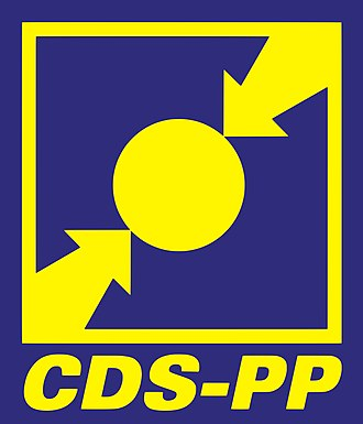 CDS – People's Party - Image: Símbolo do CDS PP (1993 2009)